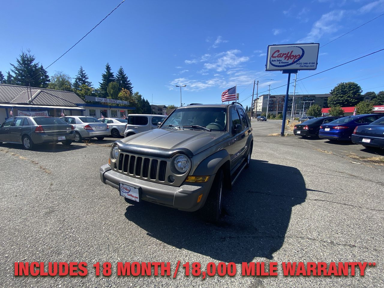 Pre-Owned 2006 JEEP LIBERTY Sport Util