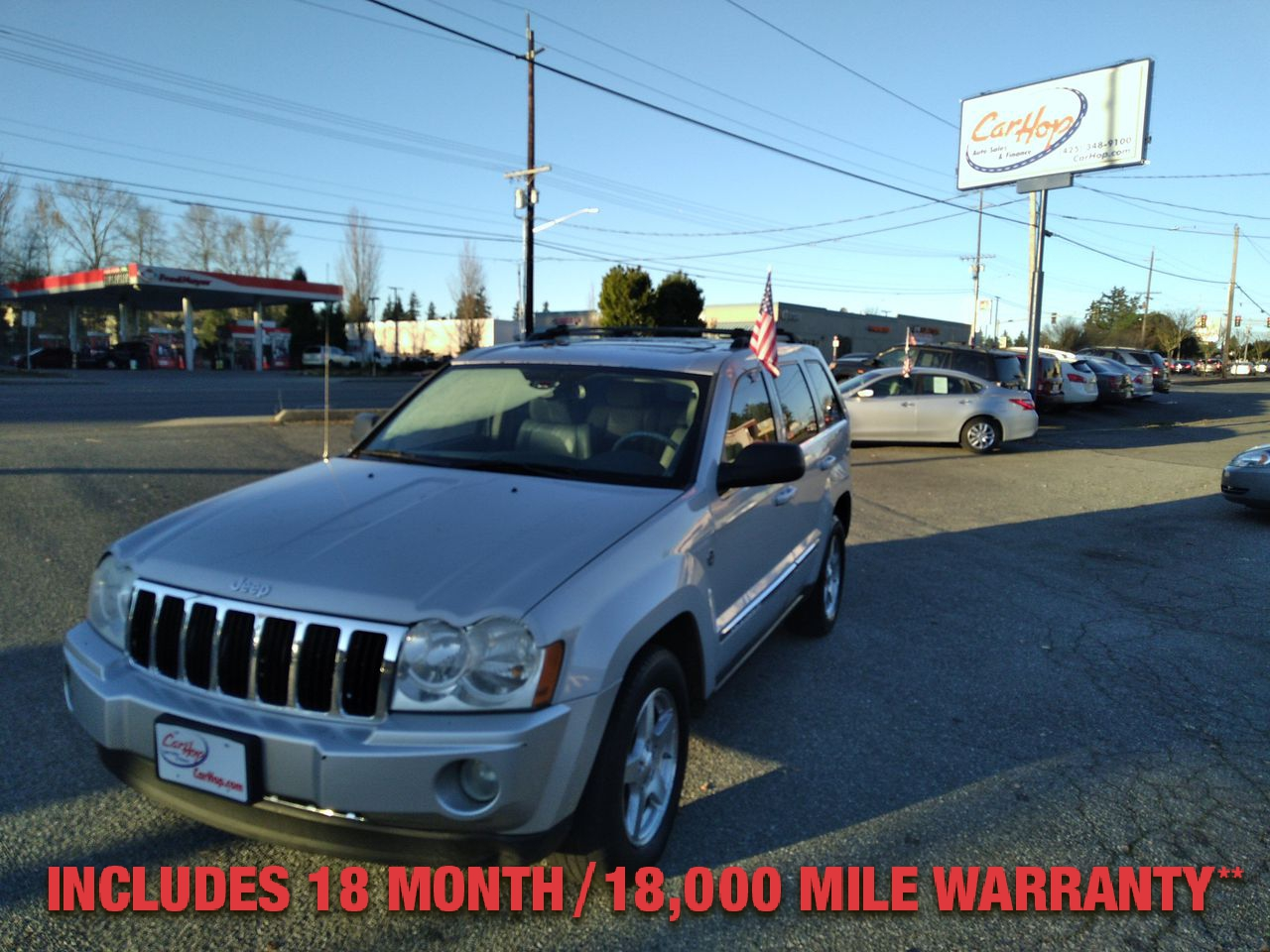 Pre-Owned 2006 JEEP GRAND CHEROKEE Limited Sp